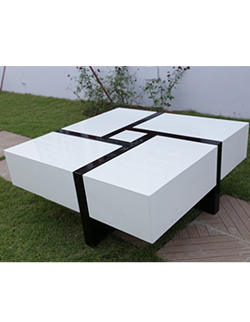 table basse smart- laquée CP